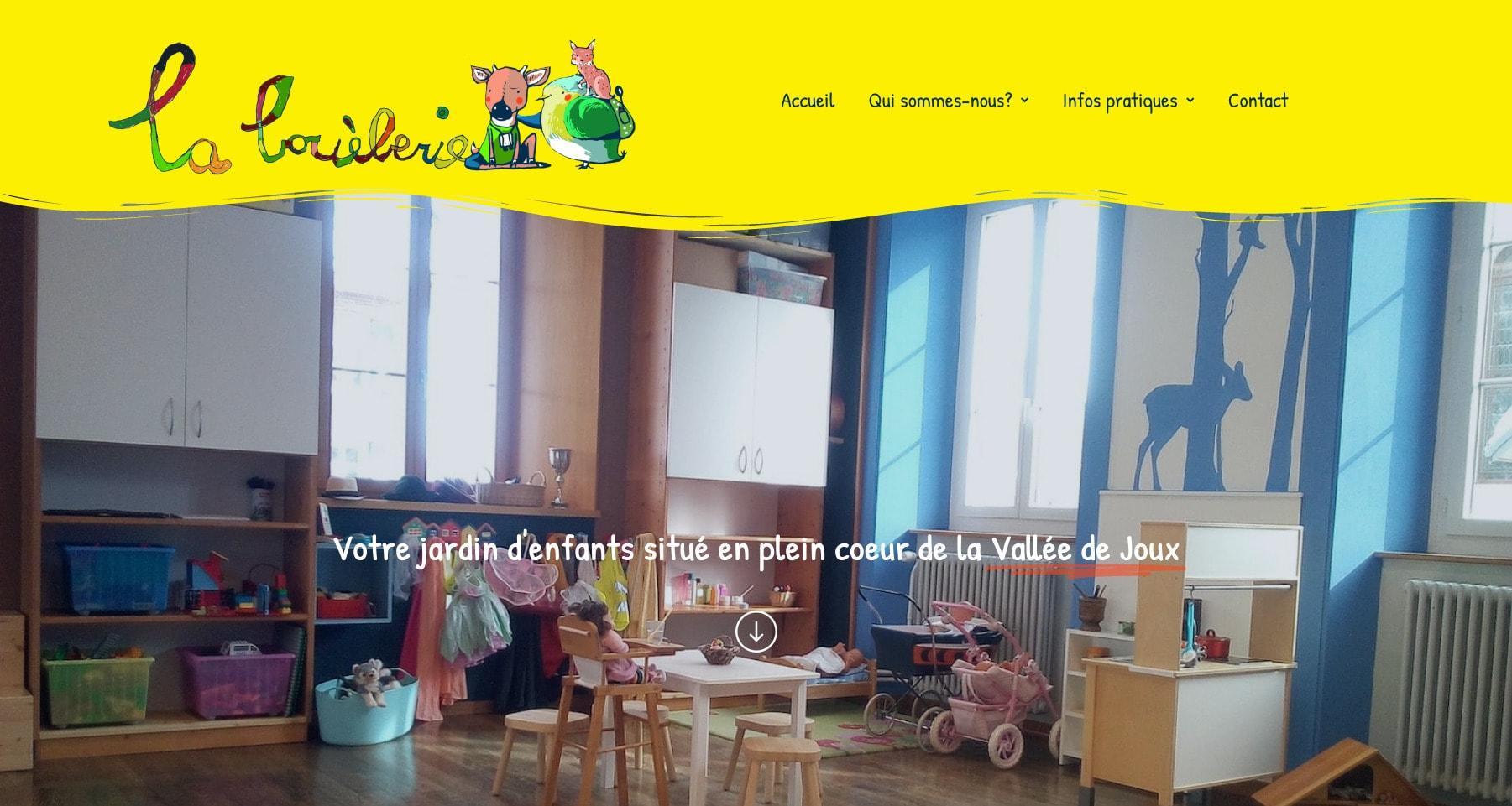 La Bouéberie, jardin d'enfants au Sentier